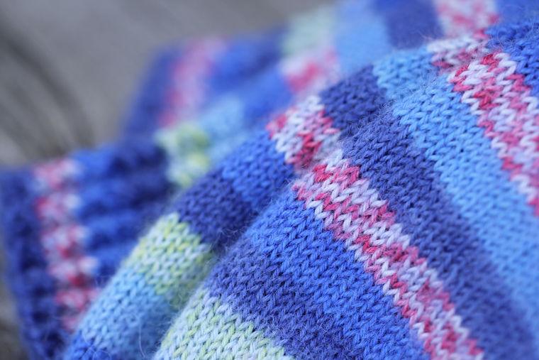 носочки, бесшовное вязание