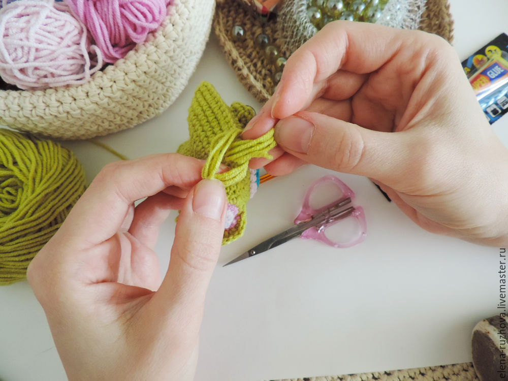 Crocheting a Charming Little Owlet with Tassels on Ears, фото № 12