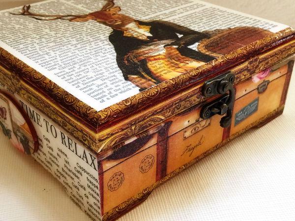 Сама сделала, сама и влюбилась))) Аристократ, джентльмен, путешественник! | Ярмарка Мастеров - ручная работа, handmade