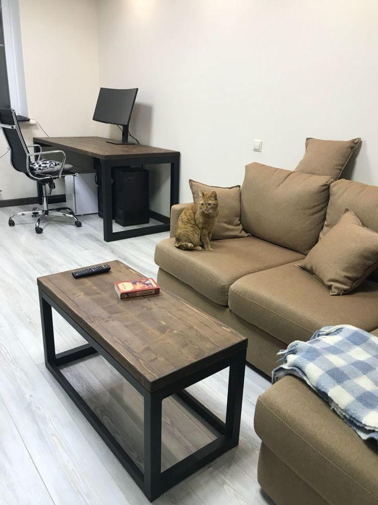 мебель лофт, мебель для дома, мебель на заказ, стол в стиле лофт