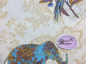Перкаль Бенгальский слон. Ярмарка Мастеров - ручная работа, handmade.