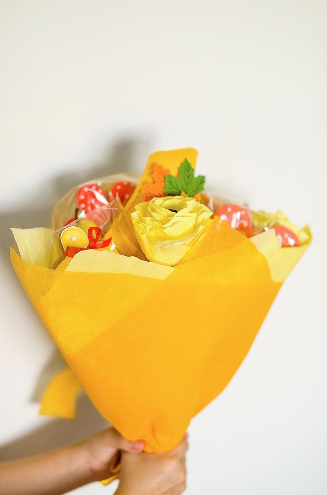 букет из конфет, первое сентября, пряники, подарок на 1 сентября, в школу, подарок в школу, для педагога