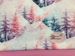 Волшебный лес. Мембранная курточная ткань. Ярмарка Мастеров - ручная работа, handmade.