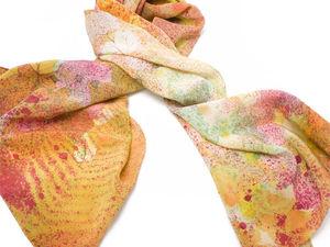 Шёлковый шарф