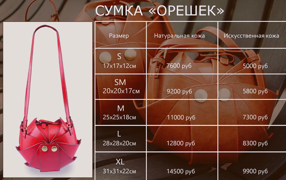 цены на сумки
