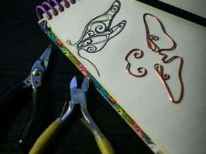 Медная стрекоза. Ярмарка Мастеров - ручная работа, handmade.