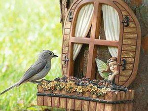 Кормушка для птиц: 18 интересных вариантов | Ярмарка Мастеров - ручная работа, handmade