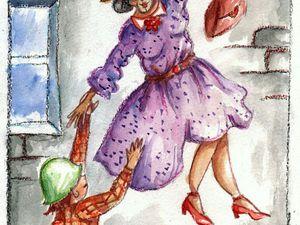 Сказка про Самую Добрую Бабушку на свете. Сказка в подарок)))   Ярмарка Мастеров - ручная работа, handmade