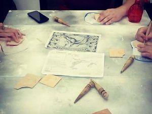 Фотоотчет с практикума по объемной гравировке 19.08. Ярмарка Мастеров - ручная работа, handmade.
