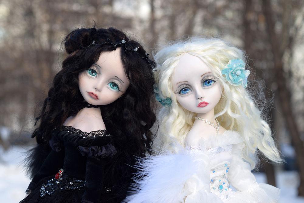кукольные девочки