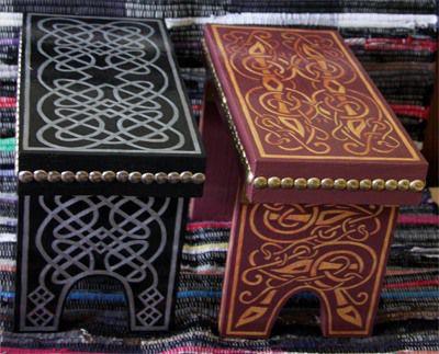 Скамеечки в Кельтском стиле