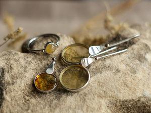 Пару слов о том, как создавались сережки. Ярмарка Мастеров - ручная работа, handmade.