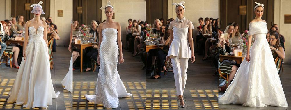 Неделя свадебной моды в Нью-Йорке: 100 лучших подвенечных платьев, фото № 5