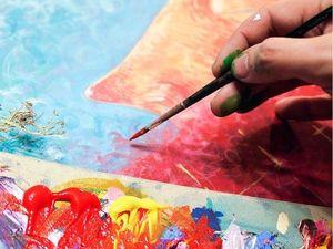 Новая серия картин, посвященная женской красоте, непостяжимости и нежности.. Ярмарка Мастеров - ручная работа, handmade.