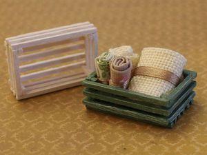 Видео мастер-класс: делаем миниатюрные ящики из спичек. Ярмарка Мастеров - ручная работа, handmade.