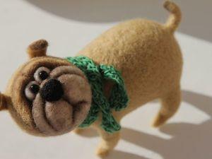 Новая собачка в моем магазине!. Ярмарка Мастеров - ручная работа, handmade.