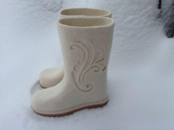 Как снять мерки для валяной обуви   Ярмарка Мастеров - ручная работа, handmade
