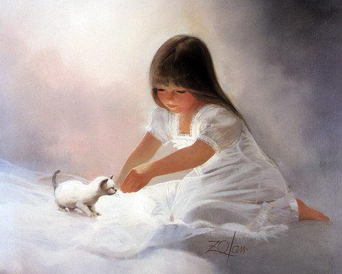 Дети :: Художник Donald Zolan фото 6