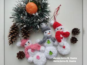 Как сделать новогодние украшения для ёлки. Ярмарка Мастеров - ручная работа, handmade.