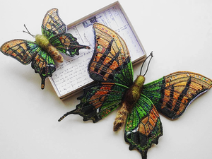 The Butterfly Effect: Stunning Textile Insects by Heather Everitt. Livemaster - handmade