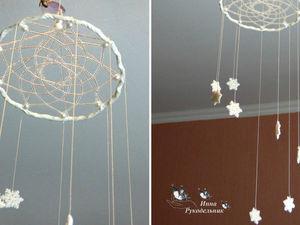 Делаем новогоднюю подвеску «Снежинки» своими руками DIY. Ярмарка Мастеров - ручная работа, handmade.