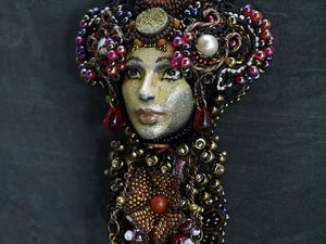 Кулоны Принцессы и керамические лица. Ярмарка Мастеров - ручная работа, handmade.