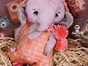 Тедди слоник Вилли фотосессия карапузиков. Teddy elephant Willie.. Ярмарка Мастеров - ручная работа, handmade.