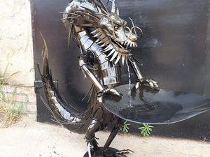 садовый фонтан дракон. Ярмарка Мастеров - ручная работа, handmade.