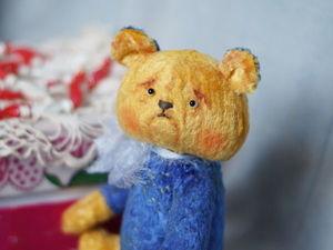 Знакомьтесь, маленький Мишутка!. Ярмарка Мастеров - ручная работа, handmade.