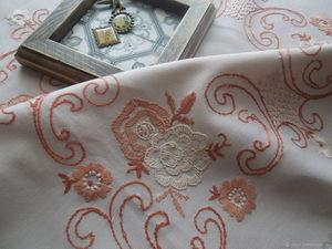 Распродажа винтажного текстиля, скидки на скатерти и салфетки!. Ярмарка Мастеров - ручная работа, handmade.