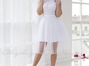 Аукцион на платье с кружевным верхом и фатиновой юбочкой! Старт 2000 р. !. Ярмарка Мастеров - ручная работа, handmade.