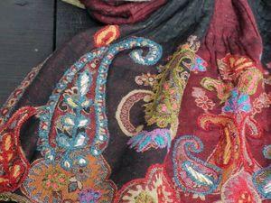 Акция! -20% на эксклюзивные палантины из вареной шерсти. Ярмарка Мастеров - ручная работа, handmade.