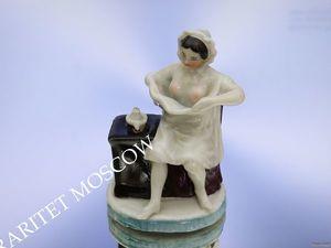 РАРИТЕТИЩЕ Девушка ню эротика фарфор Германия 82. Ярмарка Мастеров - ручная работа, handmade.