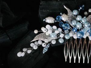 Свадебный гребень из ювелирной проволоки: видеоурок. Ярмарка Мастеров - ручная работа, handmade.