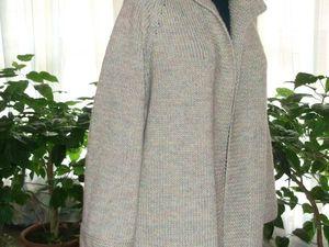 скидка на вязаное пальто. Ярмарка Мастеров - ручная работа, handmade.