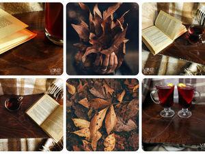 осень опять надевается с рукавов (с). Ярмарка Мастеров - ручная работа, handmade.