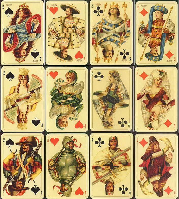 Игральные карты и все что с ними связано