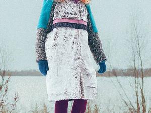 невероятное зимнее пальто видео. Ярмарка Мастеров - ручная работа, handmade.