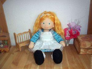 Аукцион чудесной куколки Алисы !   Ярмарка Мастеров - ручная работа, handmade