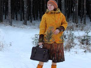 Валяная курточка спустя четыре года!!!!. Ярмарка Мастеров - ручная работа, handmade.