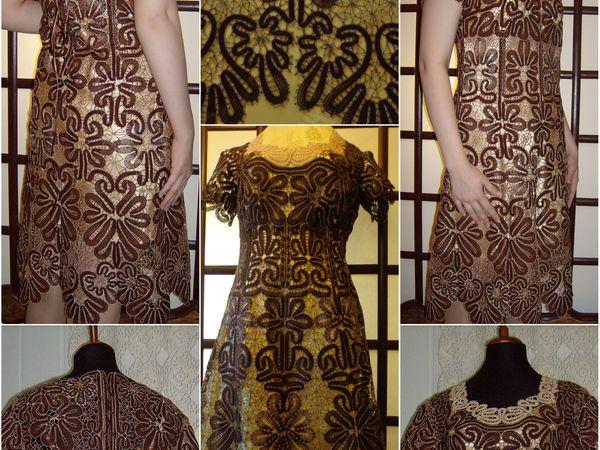 Подклад для кружевного платья | Ярмарка Мастеров - ручная работа, handmade