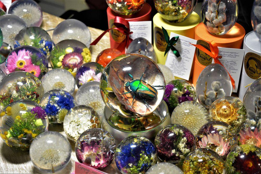 ярмарка, цветок в шаре, ярмарка на казанской