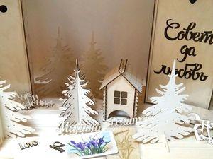 Деревянные заготовки для творчества в магазине. Ярмарка Мастеров - ручная работа, handmade.