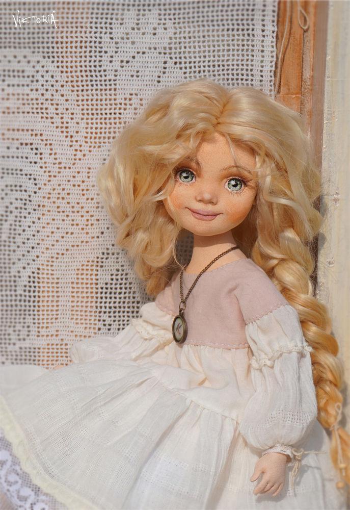 кукла текстильная, детство