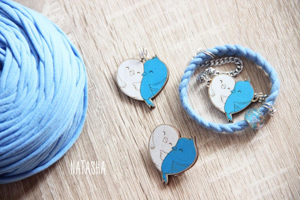 брошь из дерева, подвеска из дерева, голуби, украшение, заколка