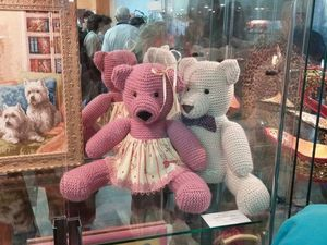 Как мои медведи участвовали в выставке. Ярмарка Мастеров - ручная работа, handmade.