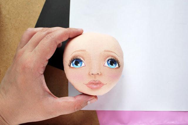 Сшить лицо для куклы из 49
