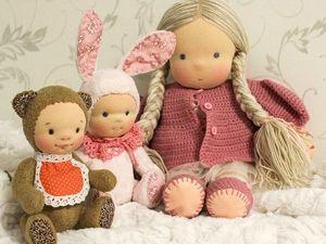 Как вы думаете где и как рождаются куклы?. Ярмарка Мастеров - ручная работа, handmade.