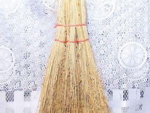Делаем оберег для дома «Домовёнок» из веника. Ярмарка Мастеров - ручная работа, handmade.