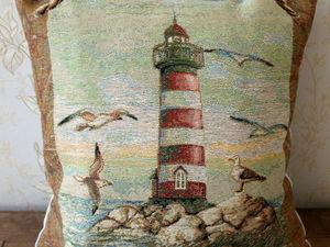 Морская тема в гобеленах!. Ярмарка Мастеров - ручная работа, handmade.
